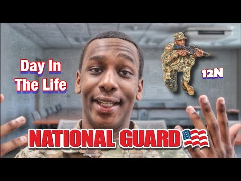 What Drill Is Like For A National Guard Engineer
