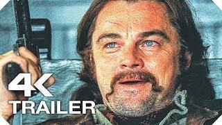 ОДНАЖДЫ В ГОЛЛИВУДЕ Русский Трейлер #1 (4K ULTRA HD) НОВЫЙ 2019 Леонардо ДиКаприо, Брэд Питт