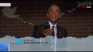 Барак Обама прочитал неприятные твиты о самом себе