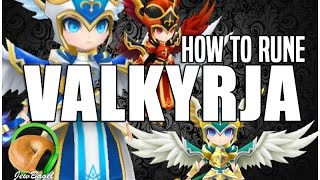 SUMMONERS WAR : How to Rune Valkyrja (Katerina, Camilla, Vanessa, Trinity, Akroma) YouTube Videos