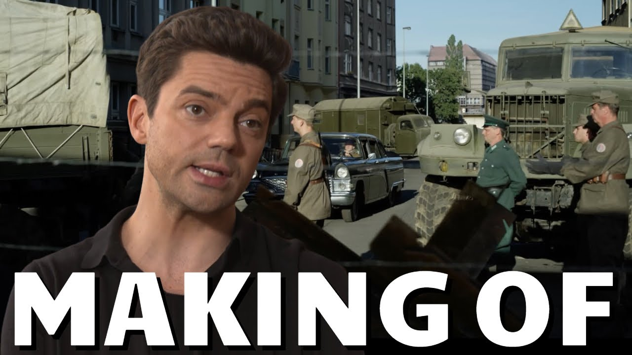 Making Of SPY CITY - Behind The Scenes & Interview mit Dominic Cooper | Dokumentation zur ZDF Serie
