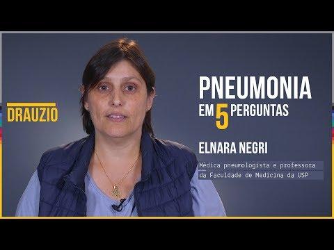 Pneumonia em 5 perguntas | Elnara Negri