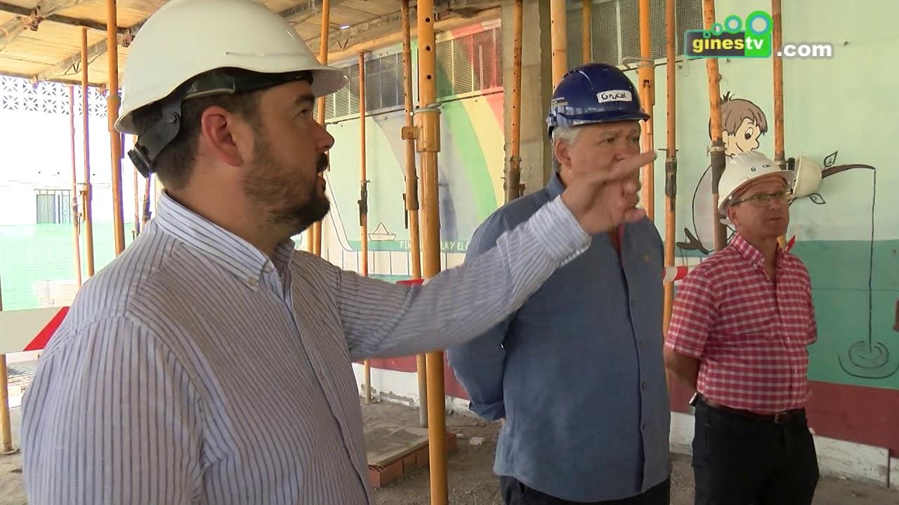 Continúan a buen ritmo los trabajos de construcción del comedor y ampliación del CEI Abgena