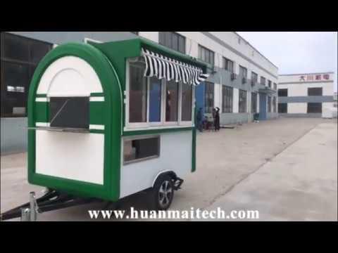 Mobile Food Truck Food Trailer Concession Trailer  Food Van