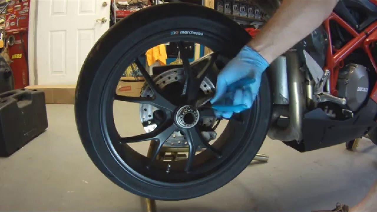 Tire Change Ducati
