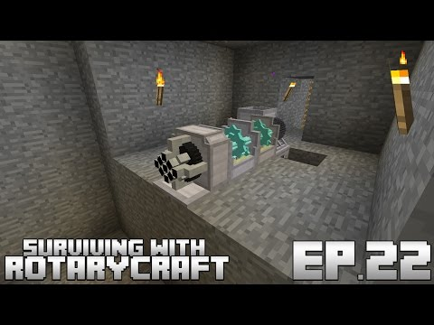 Surviving With RotaryCraft :: Ep 21 - Fission Reactor