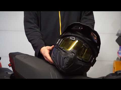 Review Of CKX TITAN Snowmobile Helmet!