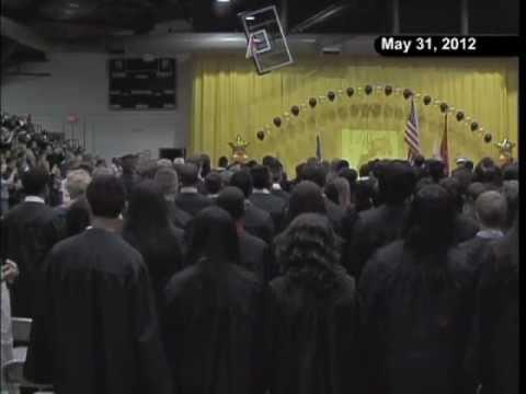 A Vito Martinez Middle School 8th Grade Promotion Ceremony 2012
