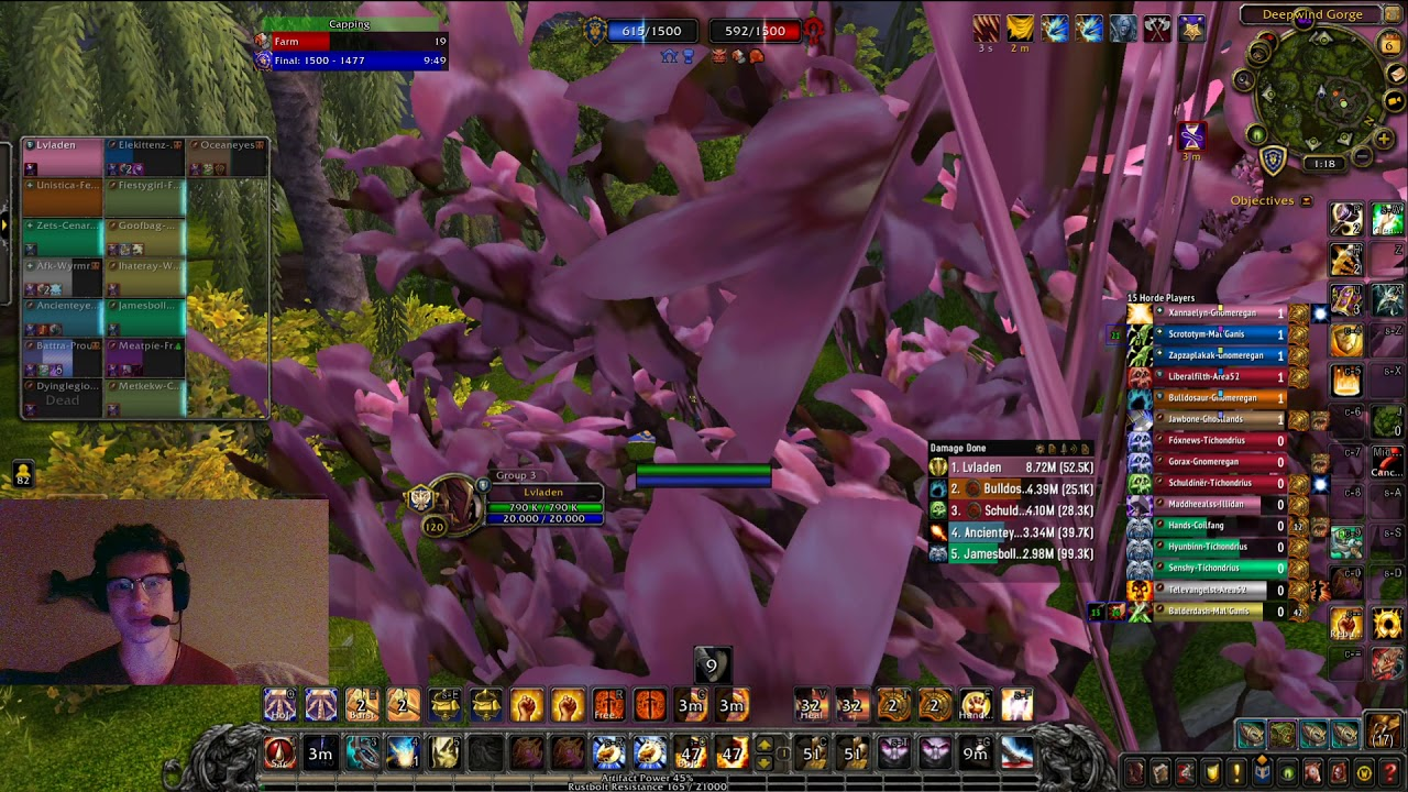 WoW 8.3 Prot Paladin PvP - INSANELY High Damage and Healing