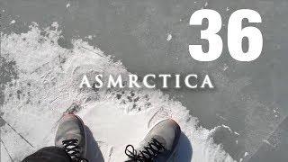 ASMR Swedish Desert Island in Ice. Winter sounds + some Soft speaking