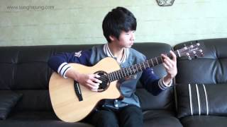 Taylor Swift) You Belong With Me   Sungha Jung Acoustic Tabs Guitar Pro 6