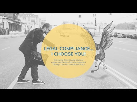Legal Compliance... I Choose You! [Pokémon GO & Augmented Reality CLE] 360° ALLie Camera #IPLSpring