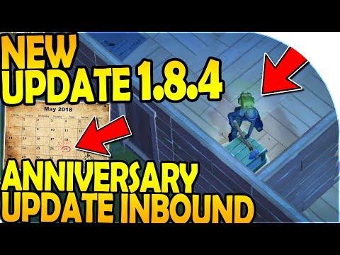 NEW UPDATE 1.8.4 - 1 YEAR ANNIVERSARY UPDATE INBOUND - Last Day On Earth Survival Update 1.8.4