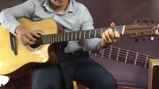 Solo Guitar bolero - Chuyện hoa sim - Văn Anh