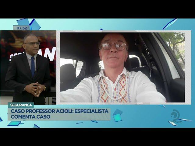 Capturado: Homem suspeito de assassinar o professor José Acioli é preso em casa