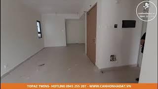 Bán - cho thuê căn 62 m2 căn hộ Topaz Twins 01 phòng ngủ - Video thực tế