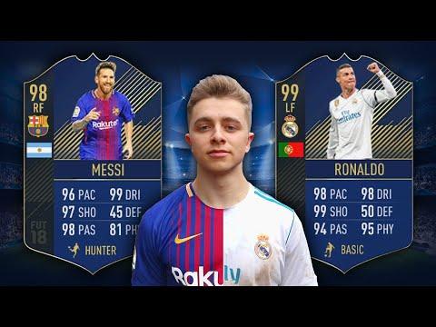 MESSI VS RONALDO | Fifa 18 TOTY Edition