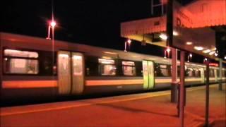 Trains at Romford   *RUSH HOUR*   28/11/11