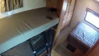 Sleep Configuration Tour 2011 Fleetwood Jamboree Sport 31n Bunk Bed Rv Motorhome Class C
