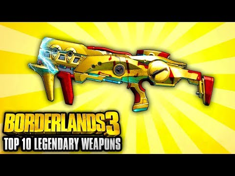 Borderlands 3 - Top 10 Legendary Weapon Locations YOU NEED TO GO TO!