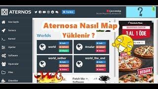 Yeni Aternosa Nasıl Map Yüklenir ??? [Güncel] 2017-2018