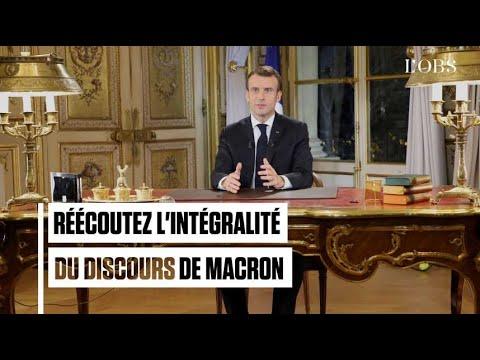 Gilets jaunes : réécoutez l'intégralité du discours d'Emmanuel Macron