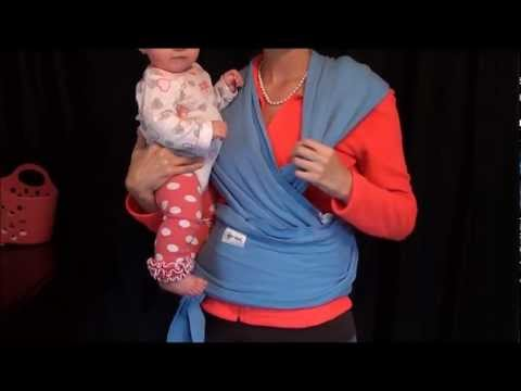 Baby Wearing: Stretchy Wrap