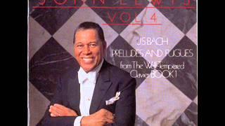 John Lewis : J. S. Bach, preludes & fugues : Vol.4