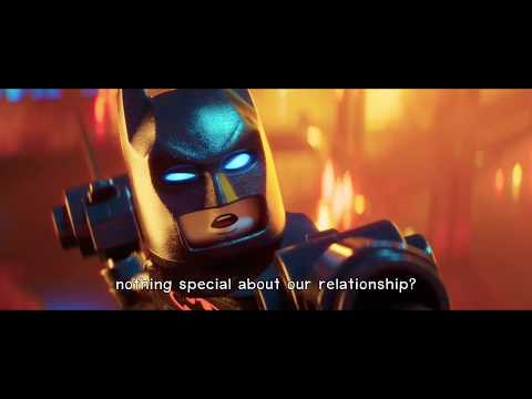 The Lego Batman Movie - Who's the (Bat)Man (Lyrics)