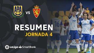 Resumen de AD Alcorcón vs Real Zaragoza (0-3)