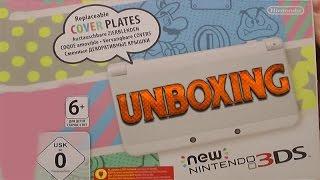 New Nintendo 3DS Unb๐xing + Zelda Majoras Mask 3D & Monster Hunter 4 Ultimate C-Stick Gameplay
