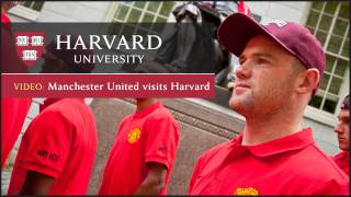 Manchester United visits Harvard University