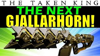 Destiny: Sleeper Simulant is the NEXT GJALLARHORN! | The Taken King Best Gun!