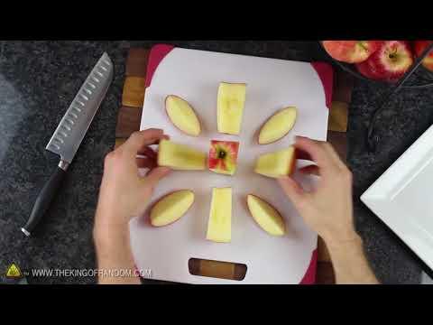 Apple hack - easy cutting