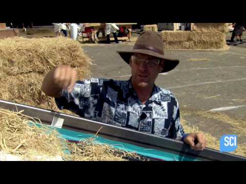 Here's The Perfect Contraption To Find A Needle In A Haystack | MythBusters: The Search