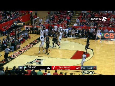 Men's Basketball Highlights: Cincinnati 92 Tulane 56 (Courtesy CBS Sports Network)