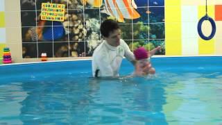Лиза Зайцева  Плавание с грудничком до года