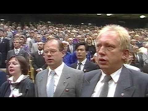 Die Internationale - 40. Jahrestag der DDR