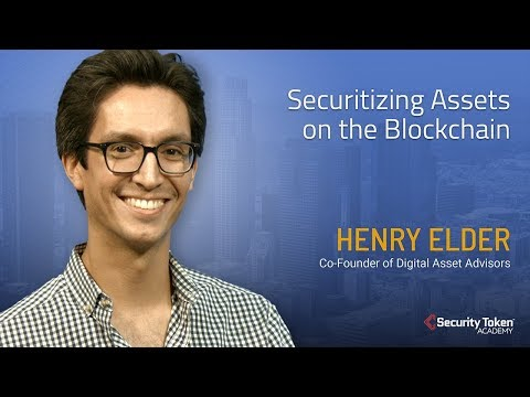 Securitizing Assets on the Blockchain