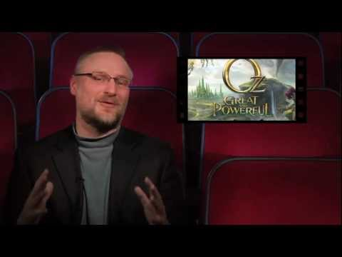 REEL FAITH 60 Second Review of OZ THE GREAT AND POWERFUL (Steven's Take)