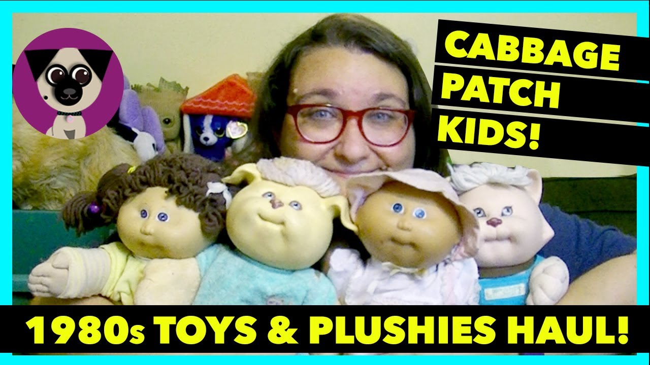 Vintage Cabbage Patch Dolls Pound Puppies and more