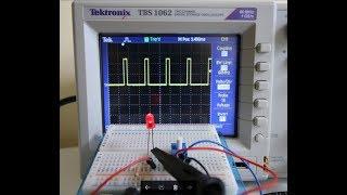 Arduino Tutorial #9 (Using analogWrite to Display the Arduino Output PWM Voltage)