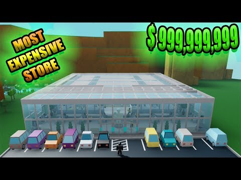 [Roblox: Retail Tycoon] SPEED BUILD 21 - MOST EXPENSIVE STORE EVER
