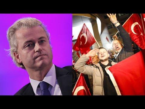 Turkish Riot in Holland  - How Did This Happen? Let's Talk Erdoğan, Wilders … and Merkel