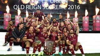 State of Origin - QLD Reign Supreme 2016