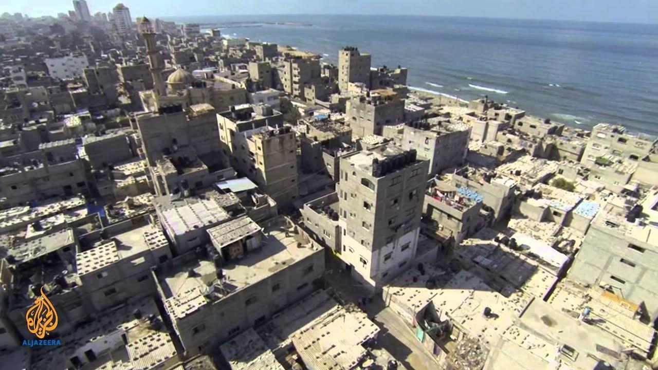 Palestine Remix - Drone Footage: Al Shati Refugee Camp ...