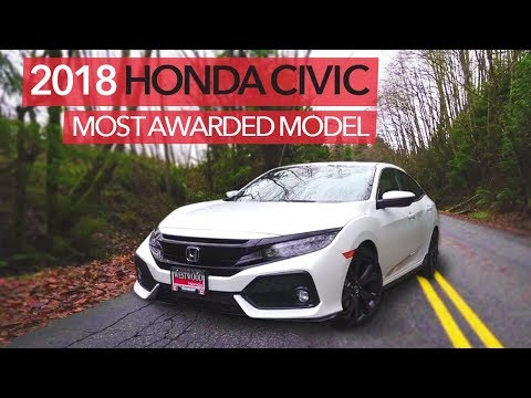 2018 Honda Civic Review: 5-star Overall Vehicle Score | Westwood Honda