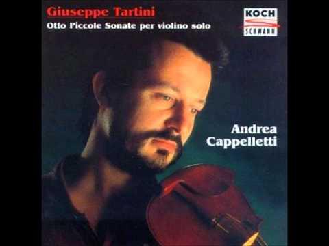 Tartini Solo Violin Sonatas
