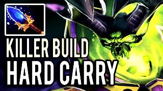 PUGNA HARD CARRY - Aui 2000 Imba Killer Build Patch 7.03 Dota 2