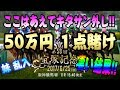【神回】50万1点賭け!宝塚記念2017  突然妹が乱入  6月25日【ヘルブラ】